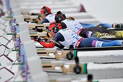 BUDALEEVA Luliia Guide: MALTSEVA Tatiana, Biathlon at the 2014 Sochi Winter Paralympic Games, Russia