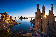 Sunrise at the south shore of Mono Lake, Mono Basin National Scenic Area, California USA