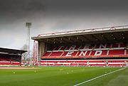 Nottingham Forest's home stadium, The City Ground, Nottingham, England on 13 February 2016. Photo by Aaron  Lupton.