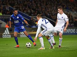 Riyad Mahrez of Leicester City - Mandatory by-line: Alex James/JMP - 10/01/2014 - FOOTBALL - King Power Stadium - Leicester, England - Leicester City v FC Copenhagen - UEFA Champions League