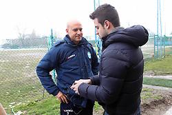 DAVID SASSARINI ALLENATORE SPAL INTERVISTATO DALLA RAI
