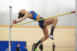 Lia Apostolovski competes during day 2 of Slovenian Athletics Indoor Championships 2020, on February 23, 2020 in Novo mesto, Slovenia. Photo by Peter Kastelic / Sportida