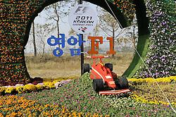 13.10.2011, Korea-International-Circuit, Yeongam, KOR, F1, Großer Preis von Südkorea, Yeongam, im Bild. Korean F1 Grand Prix Impressions// during the Formula One Championships 2011 Large price of Korea held at the Korea-International-Circuit, 2011-10-13  EXPA Pictures © 2011, PhotoCredit: EXPA/ nph/  Dieter Mathis        ****** only for AUT, POL & SLO ******