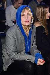 Emmanuelle Seigner attending the Alexandre Vauthier Couture Spring Summer 2018 collection show as part of Paris Fashion Week on January 23, 2018 in Paris, France. Photo by Alban Wyters/ABACAPRESS.COM
