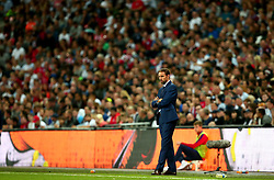 England Manager Gareth Southgate looks on - Mandatory by-line: Robbie Stephenson/JMP - 04/09/2017 - FOOTBALL - Wembley Stadium - London, United Kingdom - England v Slovakia - 2018 FIFA World Cup Qualifier