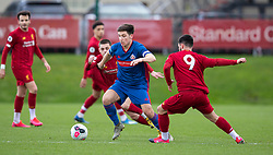 LIVERPOOL, ENGLAND - Monday, February 24, 2020: Sunderland's captain Ruben Sammut during the Premier League Cup Group F match between Liverpool FC Under-23's and AFC Sunderland Under-23's at the Liverpool Academy. (Pic by David Rawcliffe/Propaganda)