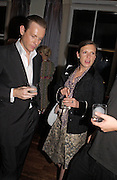 Katie Grand and Phil Poynter, Party to celebrate the publication of 'Rita's Culinary Trickery' by Rita Konig. Morton's. 18 November 2004.  ONE TIME USE ONLY - DO NOT ARCHIVE  © Copyright Photograph by Dafydd Jones 66 Stockwell Park Rd. London SW9 0DA Tel 020 7733 0108 www.dafjones.com