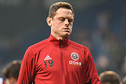 Sheffield United defender Richard Stearman (19) during the EFL Sky Bet Championship match between West Bromwich Albion and Sheffield United at The Hawthorns, West Bromwich, England on 23 February 2019.