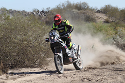 Slovenian rider Miran Stanovnik during Stage 2 at rally Dakar 2014 on January 05, 2014, from San Luis to San Rafael in Argentina. Photo by Maindru