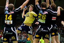 20071016. Elitserien, handball. Derby betweenIK Sävehof and Redbergslids IK in Partillebohallen, Partille.