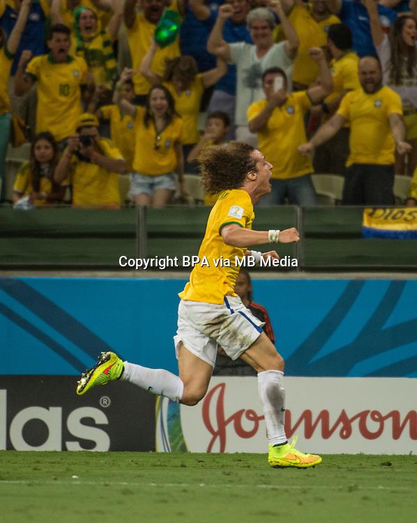 FORTALEZA, 04 DE JULHO DE 2014<br /> BRASIL VS COLOMBIA<br /> QUARTAS DE FINAL<br /> COPA DO MUNDO FIFA 2014