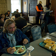 """A former casino chef, Webster, 74, found her calling when she saw a man rummaging through a garbage can in search of food. Now she runs a soup kitchen that feeds up to 400 homeless people a day, five days a week in the dinning room of the First Presbyterian Church of Atlantic City. No one is turned away. Jean has been called """"Sister Jean"""" or """"Saint Jean"""" or """"the Mother Teresa of Jersey.""""  She also offers employment counseling and a program designed for transitional housing.<br /> <br /> release #2583"""