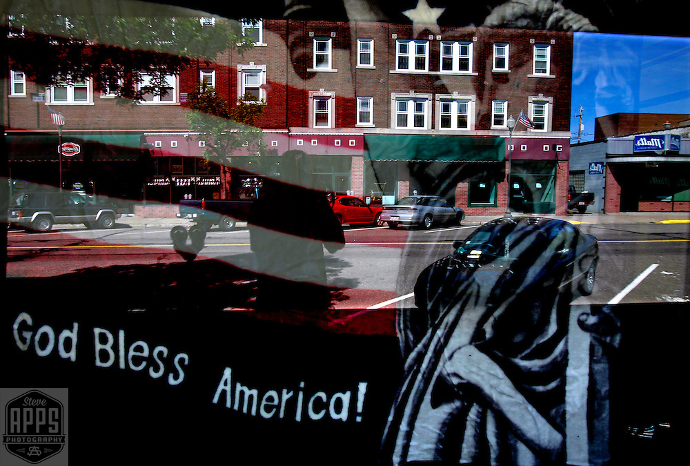 .Window Display in local business in Rhinelander, Wisconsin.
