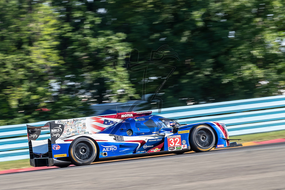 The United Autosports Ligier LMP2 car car practice for the Sahlen's Six Hours At The Glen at Watkins Glen International Raceway in Watkins Glen, New York.