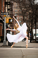Dance As Art  Photography Project Streets of New York City Series with dancer Erin Dowd