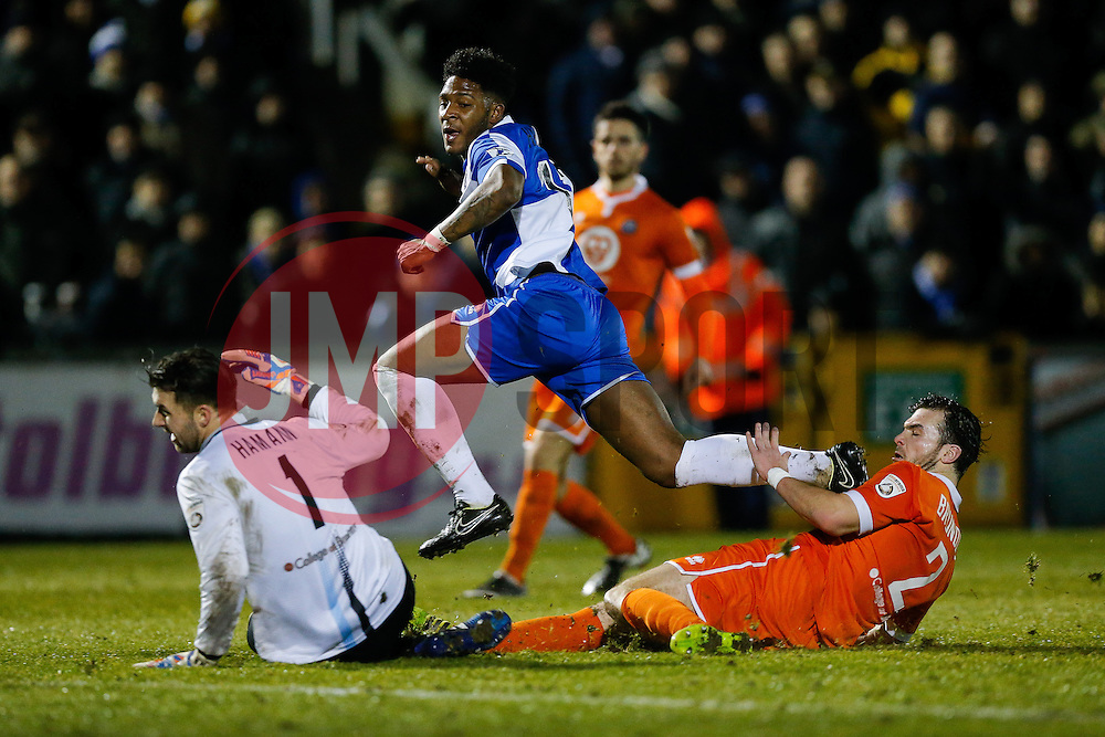 - Photo mandatory by-line: Rogan Thomson/JMP - 07966 386802 - 24/02/2015 - SPORT - FOOTBALL - Bristol, England - Memorial Stadium - Bristol Rovers v Braintree Town - Vanarama Conference Premier.