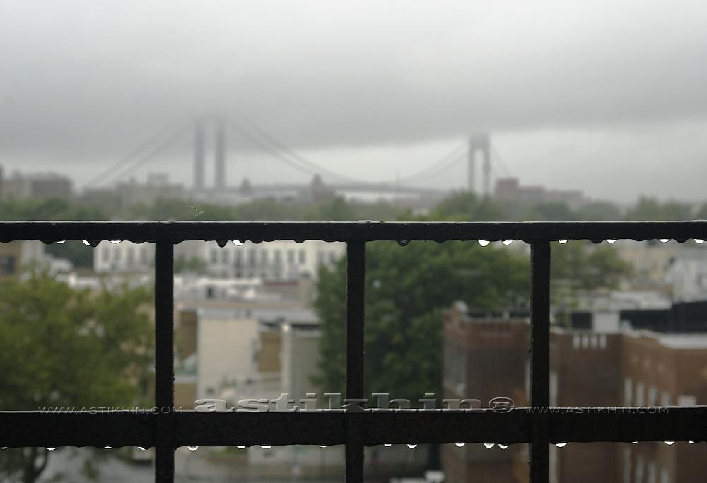 Rain in Brooklyn