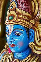 Inde, etat du Tamil Nadu, temple Mukthyar, culte Ayyanar // India, Tamil Nadu, Mukthyar temple from Ayyanar cult