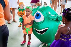 Gabriella Ruth Dickson poses for a picture.  Virgin Islands Montessori School and Peter Gruber International Academy hosts Fall Fest 2015.  St. Thomas, USVI.  31 October 2015.  © Aisha-Zakiya Boyd