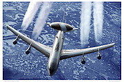 E-2 AWACS in flight
