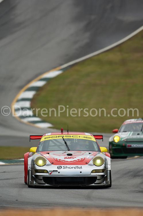 #45 Flying Lizard Motorsports Porsche 911 GT3 RSR: Jorg Bergmeister, Patrick Long, Marc Lieb