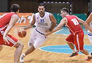 DESCRIZIONE : Sarajevo torneo internazionale Italia - Bielorussia<br /> GIOCATORE : Pietro Aradori<br /> CATEGORIA : nazionale maschile senior A <br /> GARA : Sarajevo torneo internazionale Italia - Bielorussia <br /> DATA : 21/07/2014 <br /> AUTORE : Agenzia Ciamillo-Castoria