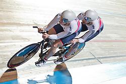BATE Steven Pilot:  DUGGLEBY Adam, GBR, Tandem 4km Pursuit Qualifiers , 2015 UCI Para-Cycling Track World Championships, Apeldoorn, Netherlands