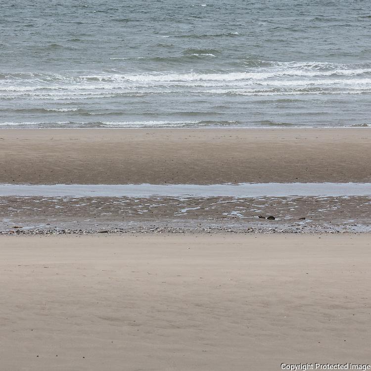 Kinmel Bay seascape I, Conwy.