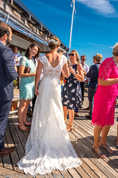 Lucy Chapman &amp; Ben Smith were married at the Boathouse, Nelson, New Zealand 13-2-2016.<br /> Also photographed at Queens Gardens, Nelson, NZ.