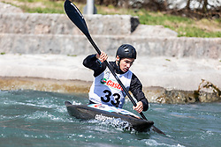 Petek Marko (KKK Ljubljana / Slovenia) during ICF Canoe Slalom Ranking Race Tacen 2018, on April 8, 2018 in Ljubljana, Slovenia. Photo by Urban Meglic / Sportida