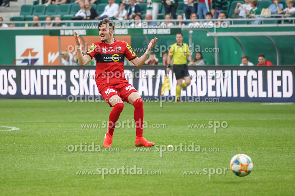 25.05.2019, Allianz Stadion, Wien, AUT, 1. FBL, SK Rapid Wien vs Cashpoint SCR Altach, Qualifikationsgruppe, 32. Spieltag, im Bild Mergim Berisha (SCR Altach) // during the tipico Bundesliga qualification group 32nd round match between SK Rapid Wien and Cashpoint SCR Altach at the Allianz Stadion in Wien, Austria on 2019/05/25. EXPA Pictures © 2019, PhotoCredit: EXPA/ Lukas Huter