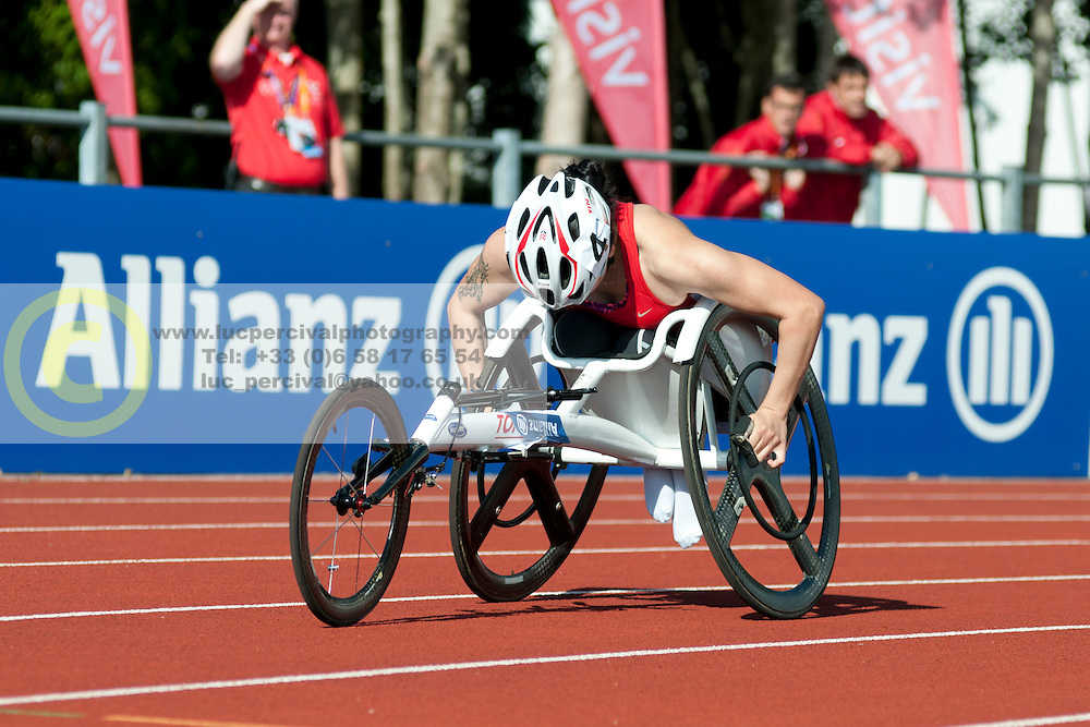 KURT Hamide, 2014 IPC European Athletics Championships, Swansea, Wales, United Kingdom