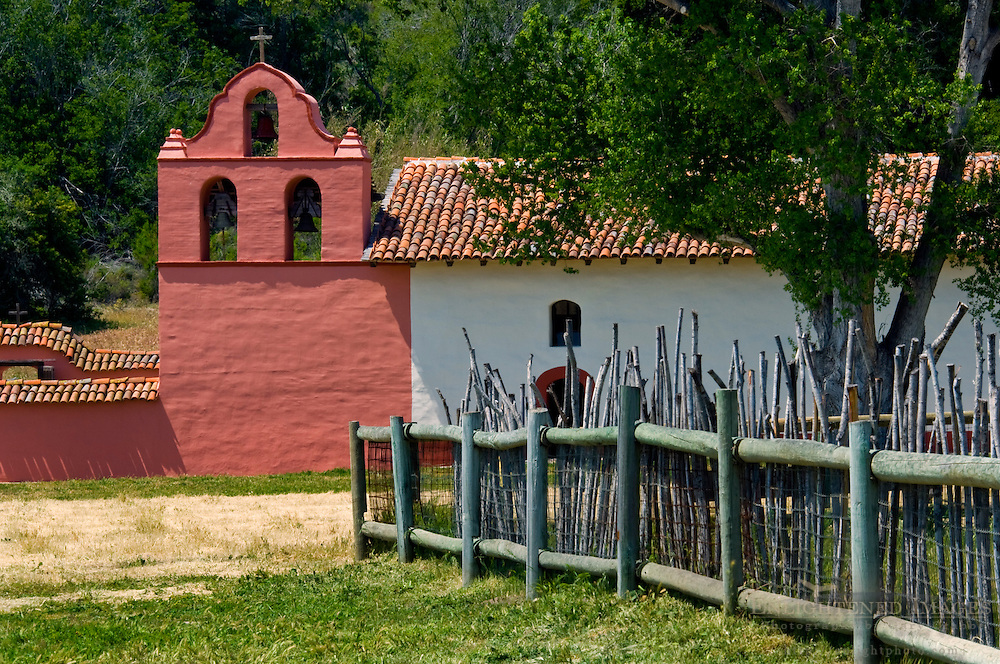 La Purisma Mission State Historical Park, near Lompoc, Santa Barbara County, California
