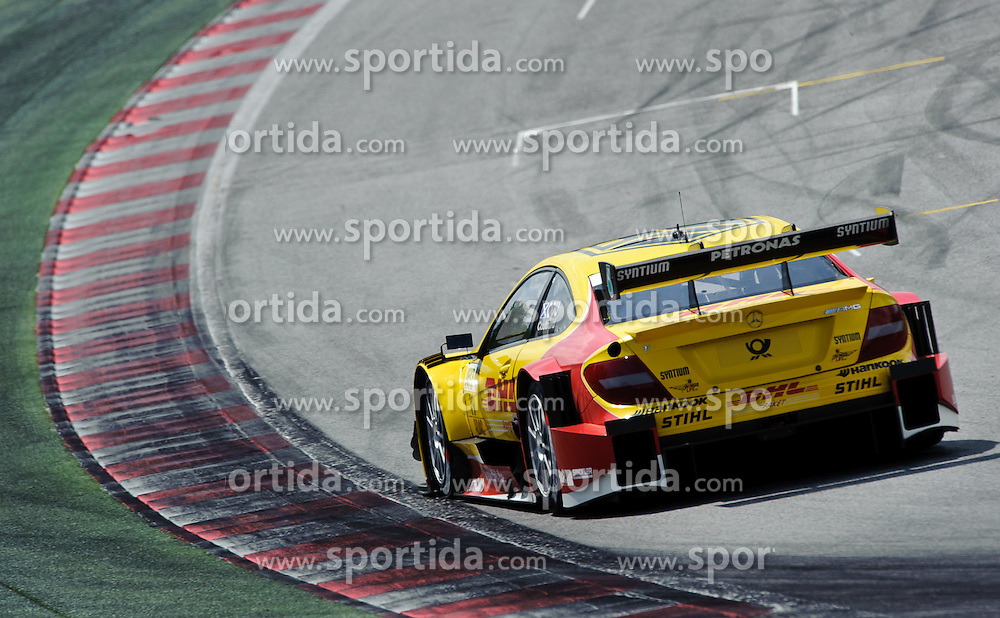 03.06.2012, Red Bull Ring, Spielberg, AUT, DTM Red Bull Ring, Qualifying, im Bild David Coulthard, (GBR, Muecke Motorsport) // during the DTM training day on the Red Bull Circuit in Spielberg, 2012/06/02, EXPA Pictures © 2012, PhotoCredit: EXPA/ S. Zangrando