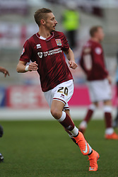 LEE MARTIN NORTHAMPTON TOWN, Northampton Town v Wycombe Wanderers, Sixfields Stadium, Sky Bet League 2, Saturday 20th Febuary 2016