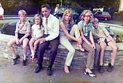 outdoors family group photo early 1970s The Netherlands