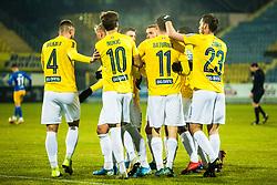Players of NK Bravo during football match between NK Celje and NK Bravo in Round #22 of Prva liga Telekom Slovenije 2019/20, 26 February, 2020 in Stadium Z'Dezele, Celje, Slovenia. Photo By Grega Valancic / Sportida