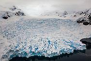 Paradise Harbor Glacier, Antarctica