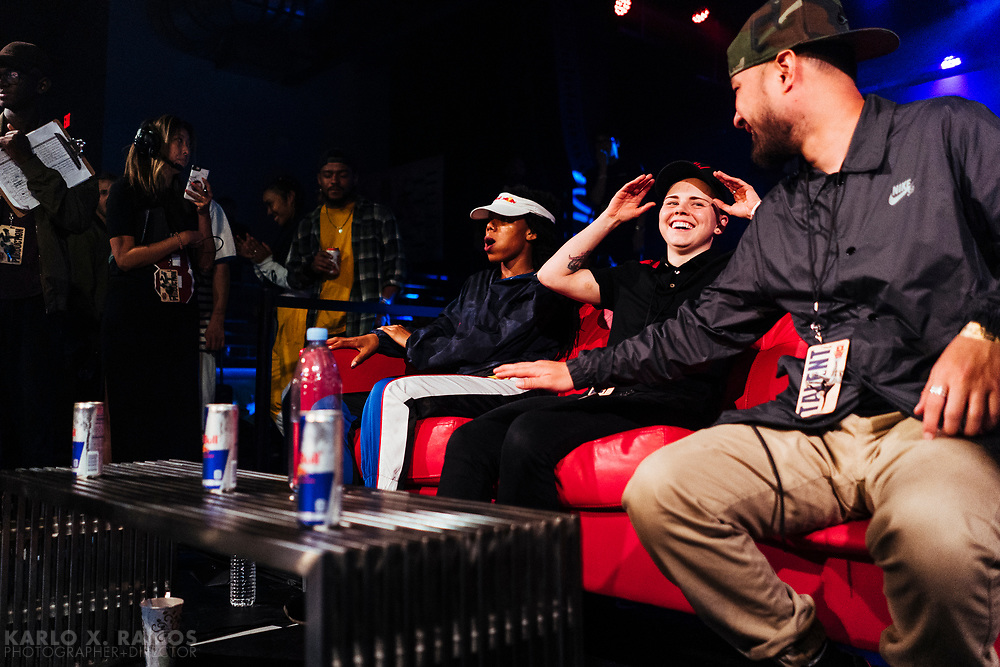 Judges during Red Bull BC One Camp Houston, TX May 19 2019