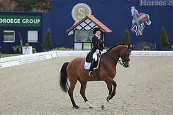 Rosen Josephine, (SUI), Crescendo VII<br /> Qualification Grand Prix Kur<br /> Horses & Dreams meets Denmark - Hagen 2016<br /> © Hippo Foto - Stefan Lafrentz