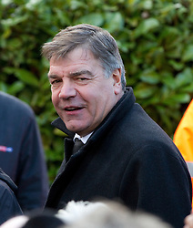 © under license to London News Pictures. 26/1/2011, Sam Allardyce arriving at the  funeral of Bolton Wonderers and England star, Nat Lofthouse at Bolton Parish Church today (26/01/2011) Nat died at the age of 85. Photo credit should read:Joel Goodman/LNP