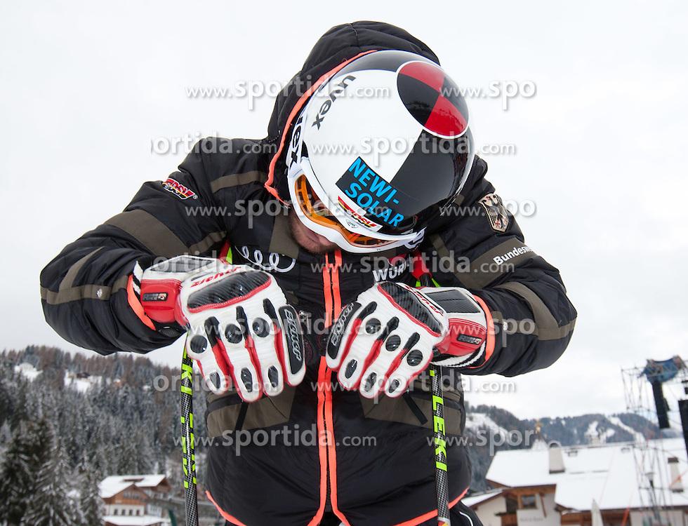 15.12.2011, Saslong, Groeden, ITA, FIS Weltcup Ski Alpin, Herren, Streckenbesichtigung vor dem 2. Training Abfahrt, im Bild Josef Ferstl (GER) // Josef Ferstl of Germany during course inspection before 2th practice session men's downhill at FIS Ski Alpine Worldcup at Saslong in Groeden, Italy on 2011/12/15. EXPA Pictures © 2011, PhotoCredit: EXPA/ Johann Groder