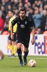 Behrang Safari of Malmo FF during the UEFA Europa League group I match between between Besiktas AS and Malmo FF at the Besiktas Park on December 13, 2018 in Istanbul, Turkey