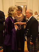 JOYCE MACKIE; KATE MAVOR; SIR KENNETH CALMAN, The National Trust for Scotland Mansion House Dinner. Mansion House, London. 16 October 2013