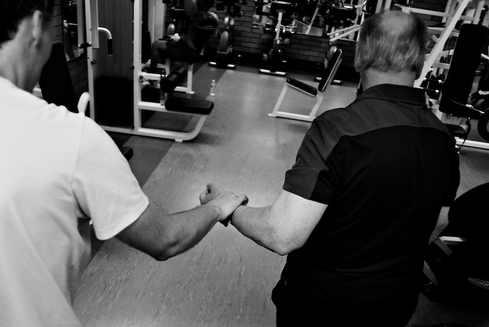 In the past three years, Roland Frayne has volunteered nearly 400 hours of his time at a gym with other seniors and people with disabilities.<br /> &quot;I get the greatest satisfaction of seeing the people that I help improve their health.&quot;