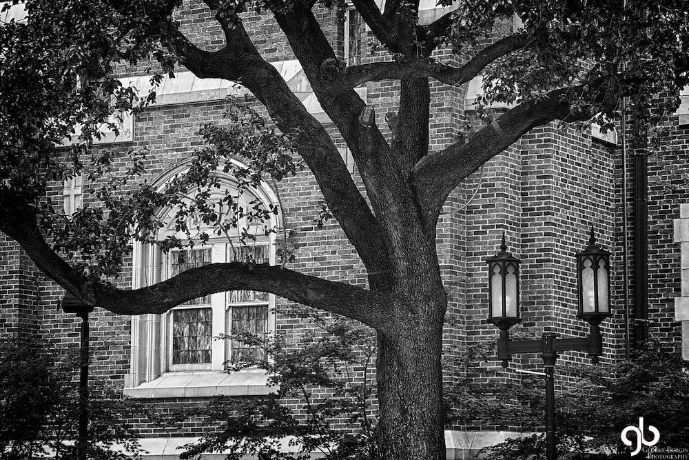 Ghostly Methodist Church.