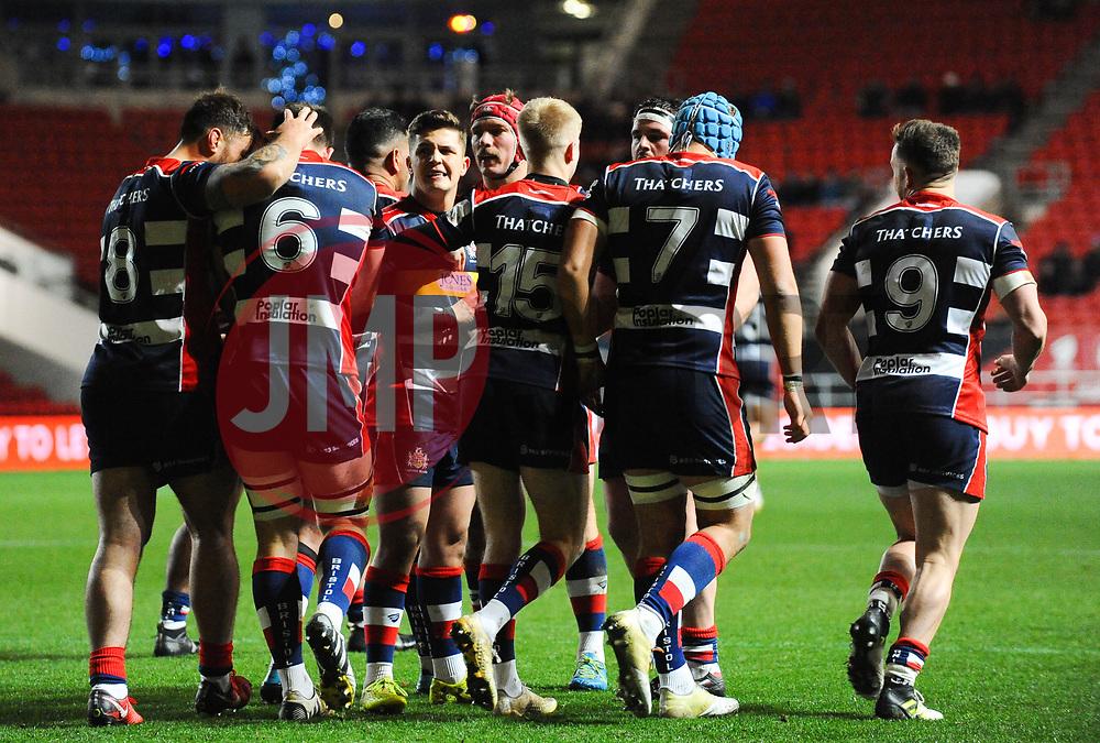 - Mandatory by-line: Alex Davidson/JMP - 08/12/2017 - RUGBY - Ashton Gate Stadium - Bristol, England - Bristol Rugby v Leinster 'A' - B&I Cup