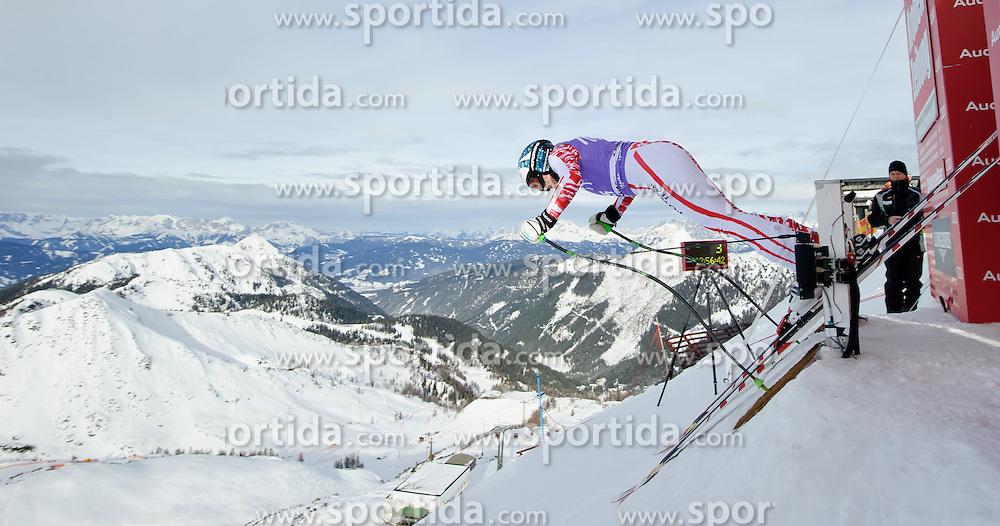 06.01.2011, Kälberloch, Zauchensee, AUT, FIS World Cup Ski Alpin, Ladies, Training, Bild zeigt Christina Staudinger (AUT), EXPA Pictures © 2011, PhotoCredit: EXPA/ S. Zangrando