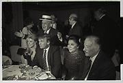 Marla Maples,Joey Adams,  Donald Trump, Imelda Marcos. Joey Adams party. New York. 7/1/90.
