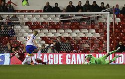 Readings Pavel Pogrebnyak scores the first goal- Photo mandatory by-line: Matt Bunn/JMP - Tel: Mobile: 07966 386802 19/11/2013 - SPORT - Football - City Ground - Nottingham - Nottingham Forest v Reading - Sky Bet Championship